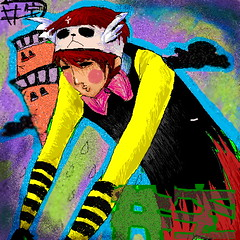 03 (newtonren) Tags: animation charcter grafitty illustrat