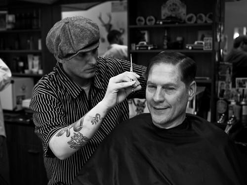 Nicky The Barber By DaveFayram