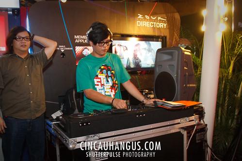 Outdoor DJ-ing