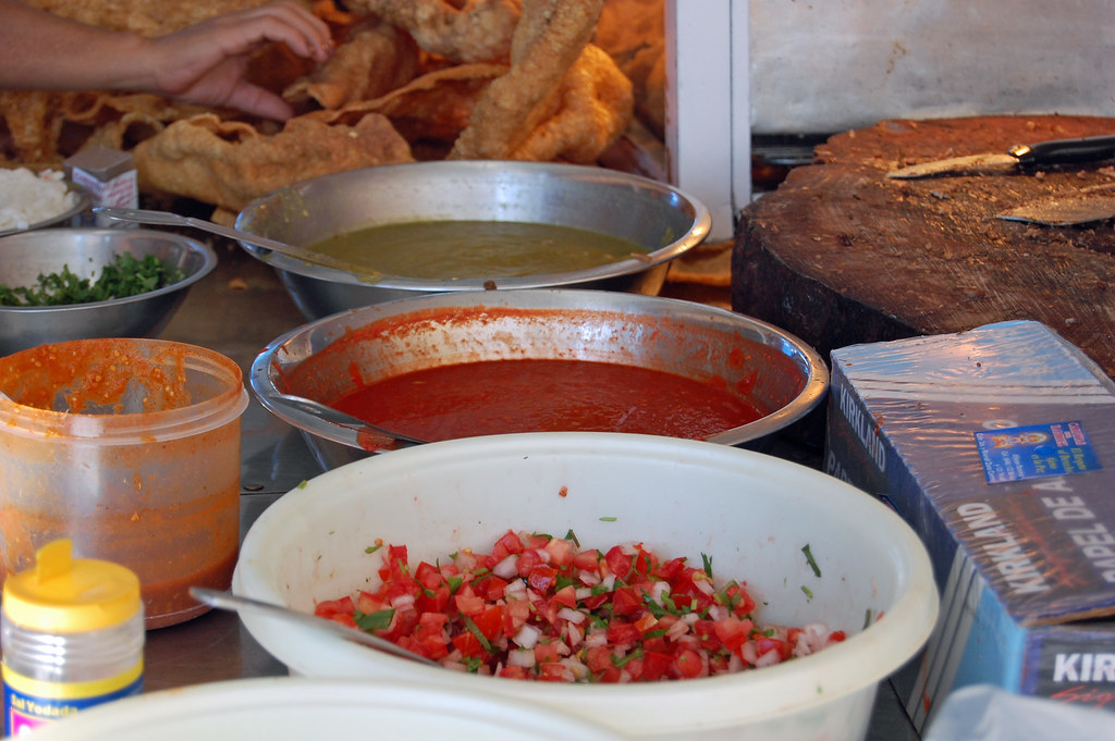 Salsa and Chicharon