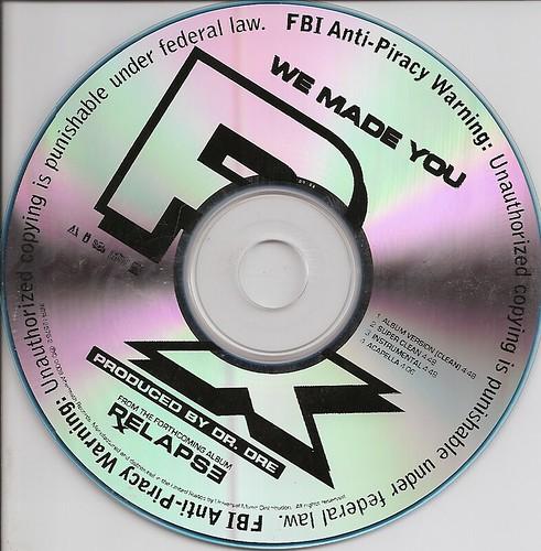 disco de Eminem We made you