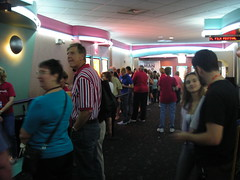The Line for our First Public Screening