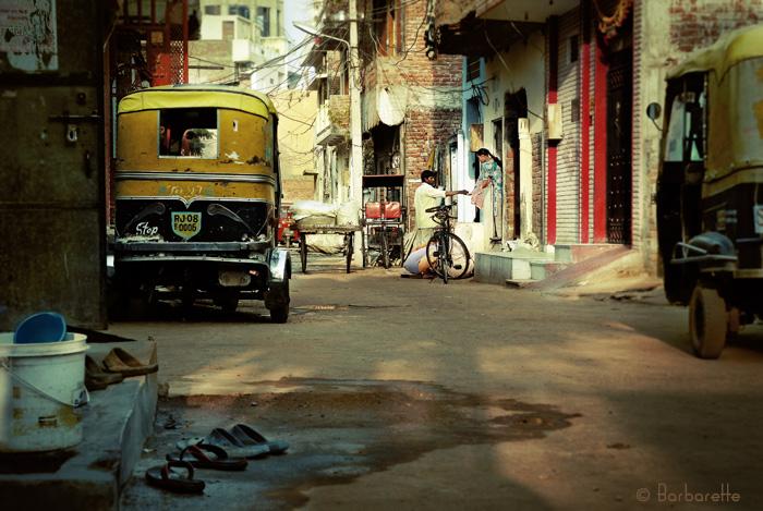 Il est 6h Jaïpur s'éveille -Le blanchisseur-