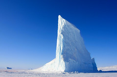 Natural architecture (Villi.Ingi) Tags: blue sky cold ice nature berg architecture canon big arctic greenland huge getty tall iceberg monolith soe gettyimages pipc dapa scoresbysund 40d grnland top20blue getty5 nonnitravel