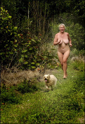 candid nude beach guide movies pics: dog, nudebeach, nude, energy, freedom, running, outdoors, fun
