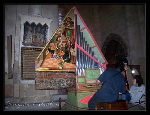 Organo de la Capilla Dorada - Catedral Vieja de Salamanca