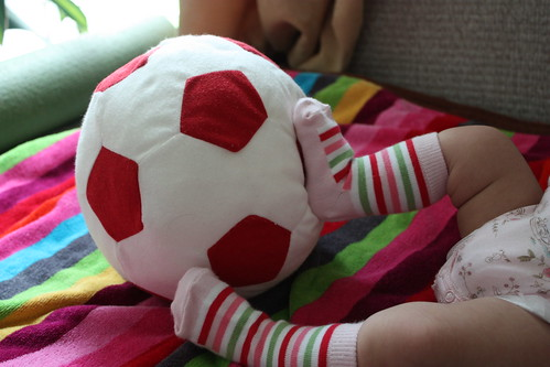 A little footballer