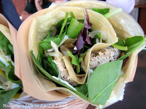 KC's Crepes Cafe- Tuna Salad