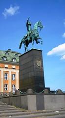 Waterfront Statue (bryanDeldridge) Tags: sweden stockholm scandanavia
