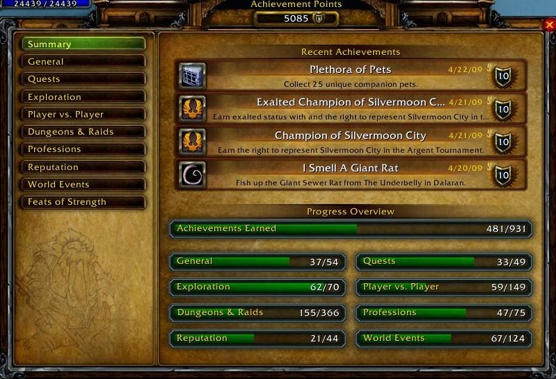 Recent Achievements 09-04-21