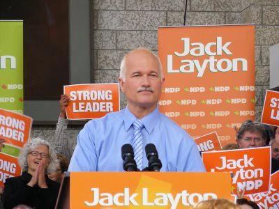 Jack Layton in Edmonton I