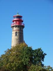 Neuer Turm (backkratze) Tags: travel blue sea vacation sky lighthouse holiday germany island deutschland reisen meer urlaub himmel balticsea baltic insel kap blau rgen isle ostsee ruegen leuchtturm arkona 10millionphotos