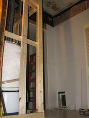 water heater framing