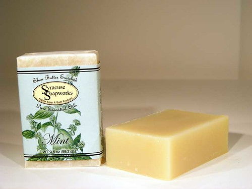 Mint Soap from Syracuse Soapworks