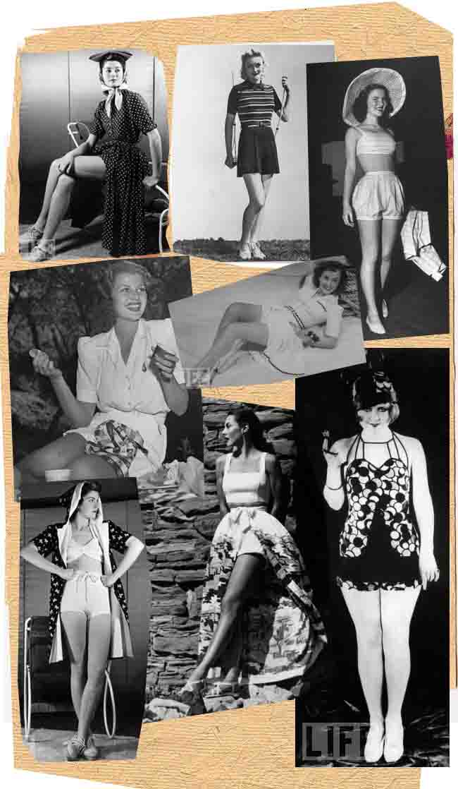 PLAYSUITS VINTAGE PHOTOGRAPHY