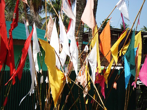 Jhandi flags