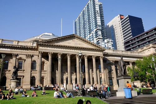 The State Library of Victoria, Melbourne by chaojiwolf.