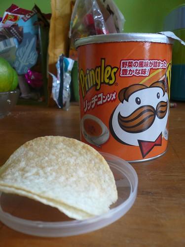 Corn Soup Pringles