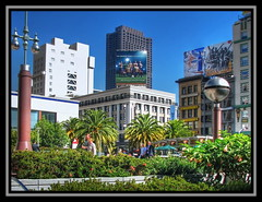 Urban Jungle (Mike G. K.) Tags: sanfrancisco california us unionsquare hdr tonemapped singlejpghdr