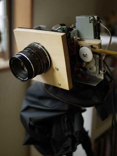 scanner camera, mamiya lens mount by spyuge.
