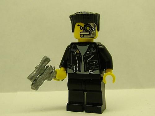 Terminator custom minifig