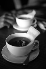 Pour some tea for two.. (mario_opal) Tags: bokeh jakarta 30mm 400d bokehwhores