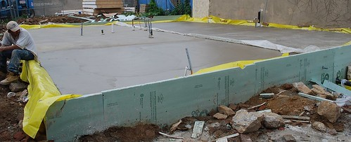 Passive Project Slab Curring