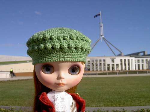 Coco Moon at Parliament House