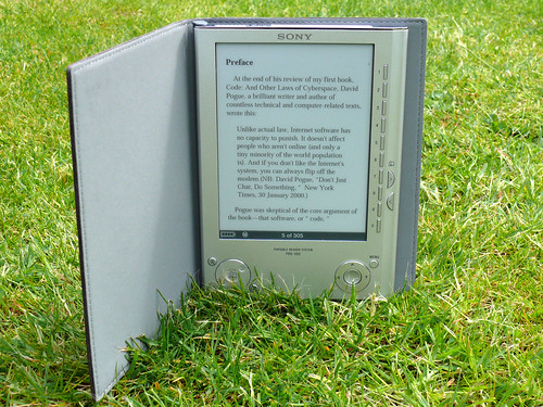 Sony eBook Reader by cloudsoup.