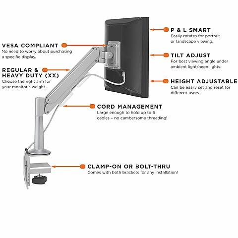 flat panel support - bretford