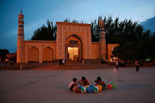 2009-06-20 喀什 静谧的艾提尕尔清真寺