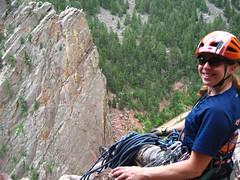 Clare Happy on Wind Ridge