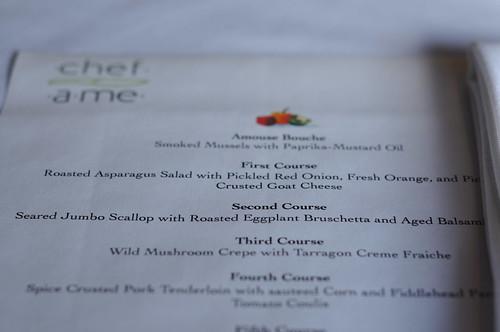 chefame menu