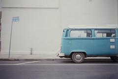 Penguin Blue (kenzodiazepine) Tags: vw volkswagen lomo smena8m lomosmena8m combivan fujicolorsuperiaxtra400