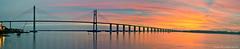 Amanecer en el Parana - Rosario - Argentina (otogno) Tags: bridge argentina argentine rio river puente islands inundacion amanecer rosario parana islas laflorida ארגנטינה argentinien 阿根廷 アルゼンチン aplusphoto 아르헨티나 аргентина أرجنتين αργεντινή
