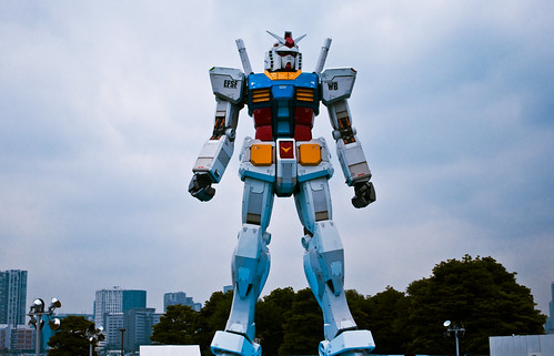 Gundam size