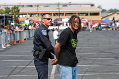 KrazyKyle Gets Arrested (usernam) Tags: tattoo canon police cop officer handcuffs arrest stunt stunters krazykyle