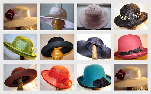 My old hats by Anna Amnell