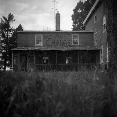 (patrickjoust) Tags: county bw usa white black abandoned 120 6x6 tlr blancoynegro film home farmhouse analog rural america vintage square lens us reflex md focus mechanical kodak empty united trix country north patrick twin maryland 1966 v shore 400 vacant diafine epson medium format 100 states manual 500 expired 80 joust eastern developed cecil develop estados 80mm blancetnoir unidos v500 schwarzundweiss autaut patrickjoust amiflex amitar wemustchange