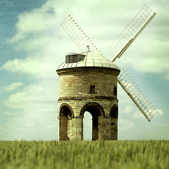 [フリー画像] 建築・建造物, 工場・産業機械, 風車, 201106100100