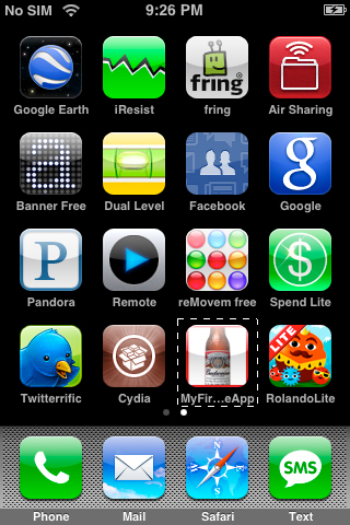 iPhone Screen 1