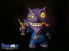 Scottoons custom devil Munny