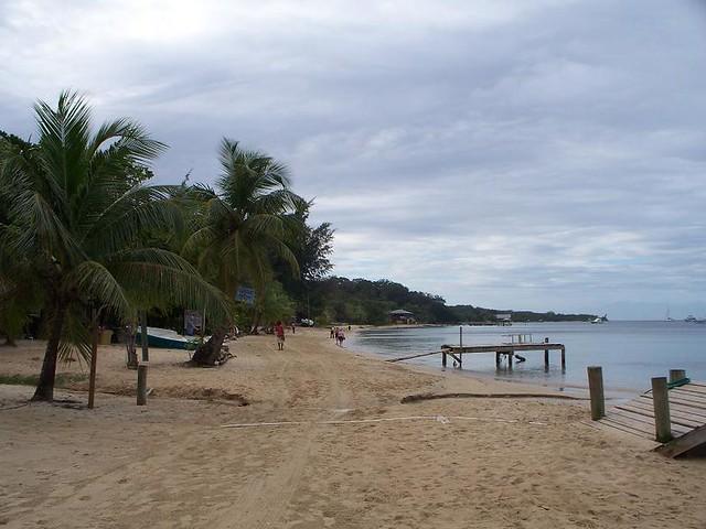 Beach - Roatan, Honduras