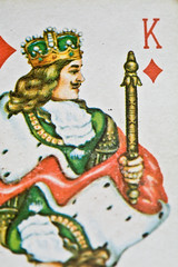 King of Diamonds (Andy at Devon Photography) Tags: cards card canon5d canon100mmmacro kingofdiamonds