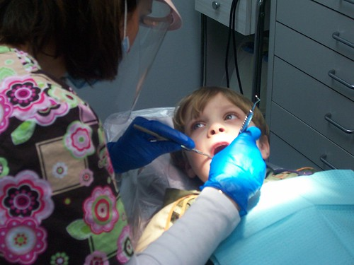Oliver's first visit to the Dentist