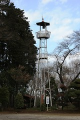 三ヶ島八幡の火の見櫓(所沢市)