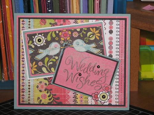 Lisa's Wedding Card