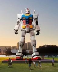 090424 - 將在7/11隆重現身的原尺寸比例18公尺高「RX-78-2鋼彈」,幕後製作特輯的第1集正式首播
