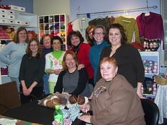 Ladies at Knit Night