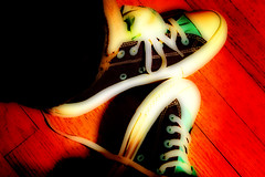 ~HeY I PuT SoMe NeW ShOeS oN!!~ (sherrYgibsoN~GoNe~liviNg iN Instagram LaNd Now) Tags: photoshop texas explore newshoes converse sherry 2009 chucks chucktaylors allstars whatacutie 3661 paolonutini 365dayspool goldstaraward 365days2009 project3652009 project36612009 3661days 365dayspoolyr2